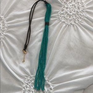 Women's long necklace